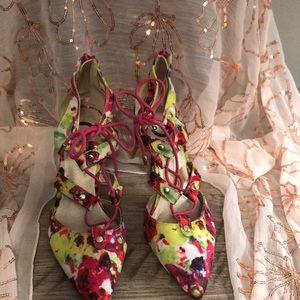 Multicolor Guess Heels